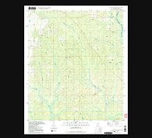 USGS TOPO Map Alabama AL Dogwood Creek 303685 1994 24000 Unisex T-Shirt