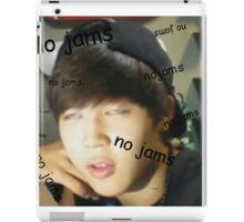 Jimin - no jams iPad Case/Skin