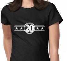 Twenty Stars Womens Fitted T-Shirt