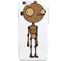 A Real Wooden Boy! iPhone Case/Skin