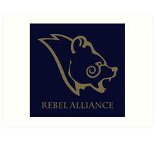 Windhelm - Rebel Alliance Art Print