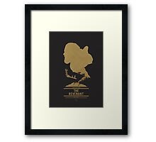 Keep Breathing Framed Print