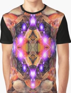 Alien Abstract  Graphic T-Shirt