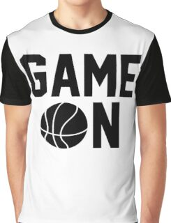 Game On Basketball Graphic T-Shirt