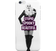 Supid, Spooky and Beautiful Purple iPhone Case/Skin