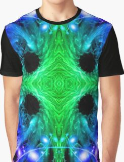 Alien Snowflake Graphic T-Shirt