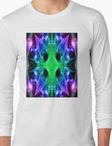 Alien Snowflake Long Sleeve T-Shirt