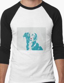 Dog Love - Donut Men's Baseball ¾ T-Shirt