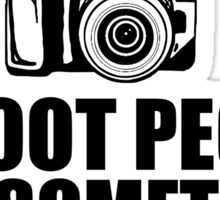 Photography Shoot People Sticker