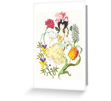 Flower Faerie Greeting Card