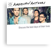 American Authors Canvas Print