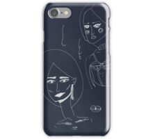Pretty young sexy fashion sensual woman iPhone Case/Skin
