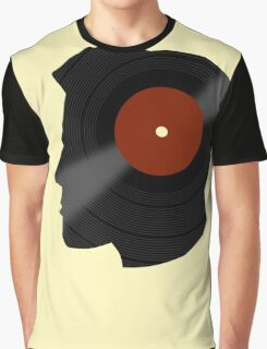 Vinyl Records Lover - The DJ - Vinylized Man T Shirt Graphic T-Shirt