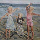 Evening Beach Bliss by Juliane Porter