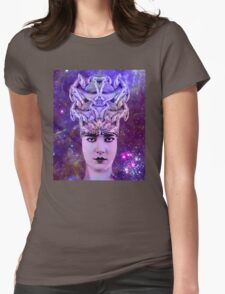 Snake Woman Womens Fitted T-Shirt