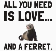 Love And A Ferret One Piece - Long Sleeve