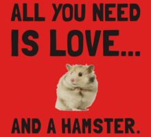 Love And A Hamster One Piece - Long Sleeve