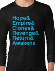 Machete Saga Long Sleeve T-Shirt