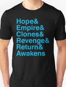 Machete Saga Unisex T-Shirt