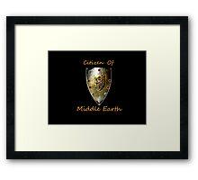 Citizen: MiddleEarth Framed Print