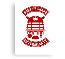 Sons of Skaro Canvas Print