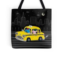 Taxi Ride Tote Bag