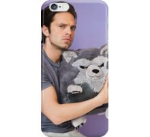 Sebastian Stan and Friend <3 iPhone Case/Skin