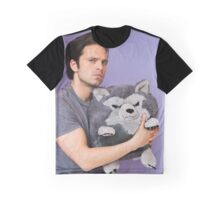 Sebastian Stan and Friend <3 Graphic T-Shirt
