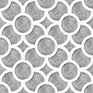 Grey Geometric by Vicky Webb