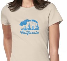 California. Womens Fitted T-Shirt