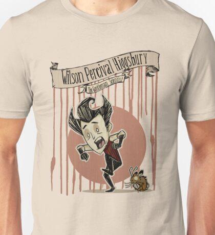 Don't Starve- Wilson Percival Higgsbury Unisex T-Shirt