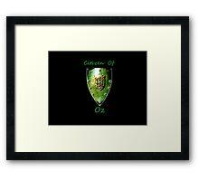 Citizen: Oz Framed Print