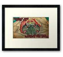 Too Silly Framed Print
