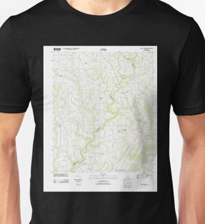 USGS TOPO Map Alabama AL Holly Pond 20110921 TM Unisex T-Shirt