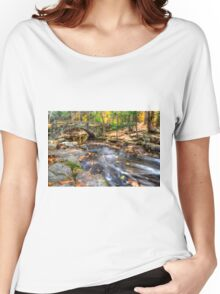 Fall comes and summer floats away.  Women's Relaxed Fit T-Shirt