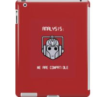 We Are Compatible (Cyberman) iPad Case/Skin
