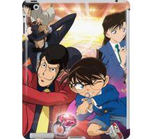 Lupin and Conan iPad Case/Skin