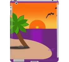 Tropical Island Scene iPad Case/Skin