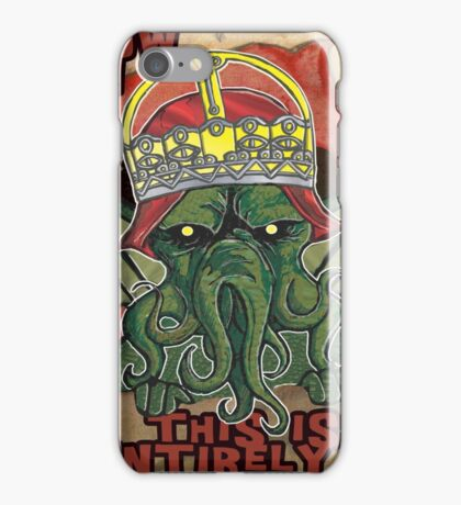 Too Silly iPhone Case/Skin