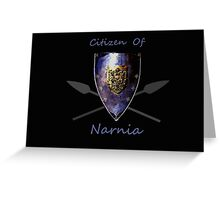 Citizen: Narnia Greeting Card