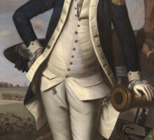 Vintage famous art - Charles Willson Peale - George Washington Sticker
