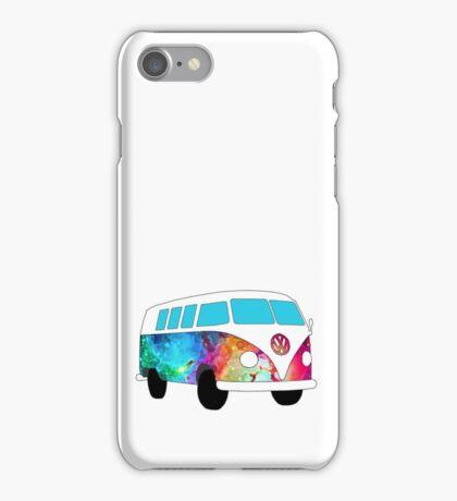 VW Rainbow Hippie Bus! iPhone Case/Skin
