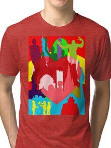 BIRMINGHAM (ENGLAND) THE BIG HEART Tri-blend T-Shirt