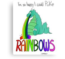Rainbow Sarcasm Metal Print