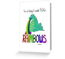 Rainbow Sarcasm Greeting Card