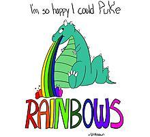 Rainbow Sarcasm Photographic Print