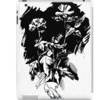 Ink flowers iPad Case/Skin
