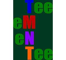 Phonetic TMNT Photographic Print