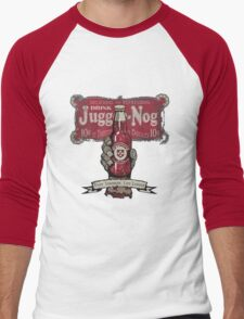 Jugger-Nog Men's Baseball ¾ T-Shirt