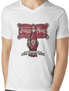 Jugger-Nog Mens V-Neck T-Shirt